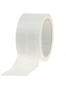 PP Acrylat Klebeband 48mm/66m Weiß Low-noise
