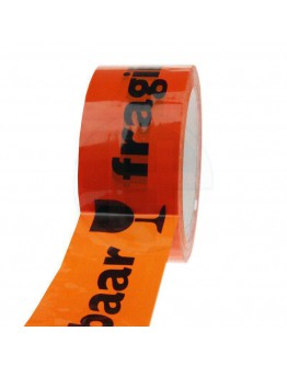 Klebeband PP Acrylat BREEKBAAR orange 48mm/66m High-tack Low-noise