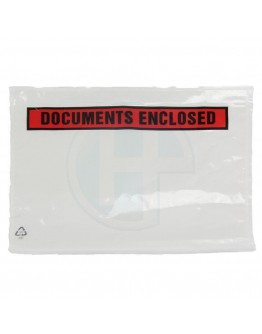 "Lieferscheintaschen ""Documents enclosed"" A5 225x165mm 1.000 Stk."